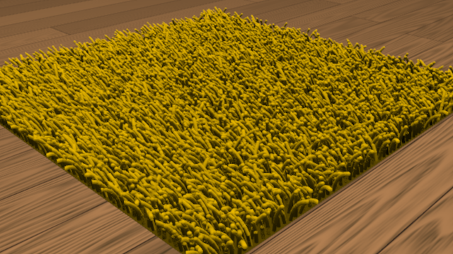 fake carpet shader sample